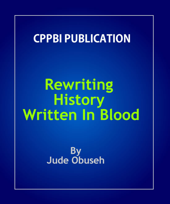 Rewriting History Written In Blood